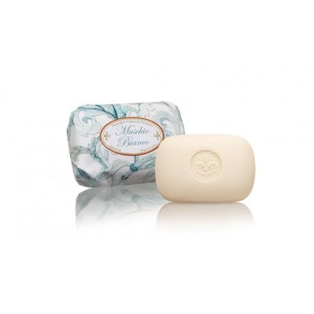 Saponificio italské mýdlo - Moschio Bianco 200g