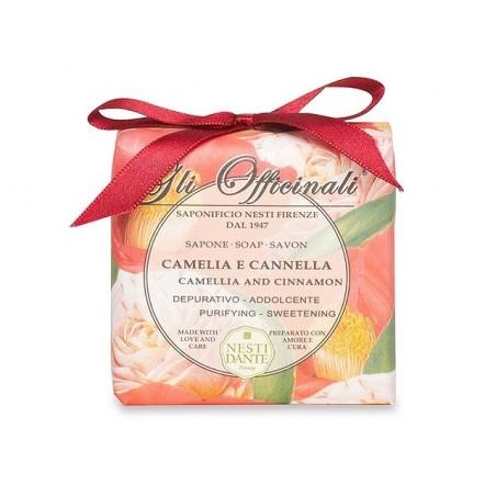 Tuhé mýdlo NESTI DANTE Gli Officinali- Kamélie a skořice 200 g