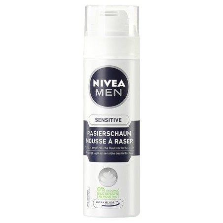 Nivea pěna na holení Sensitive 200ml