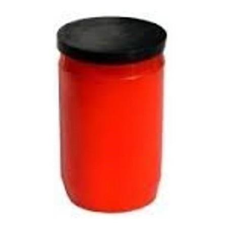 Olejová svíčka malá- červená 110g