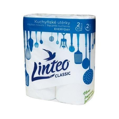 Kuchyňské papírové utěrky LINTEO 2 role
