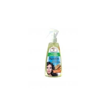 Vlasová regenerace KERATIN s olejem z obilných klíčků a panthenolem 260 ml