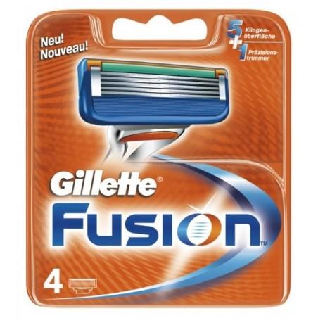 Gillette Fusion náhradní hlavice 4 ks