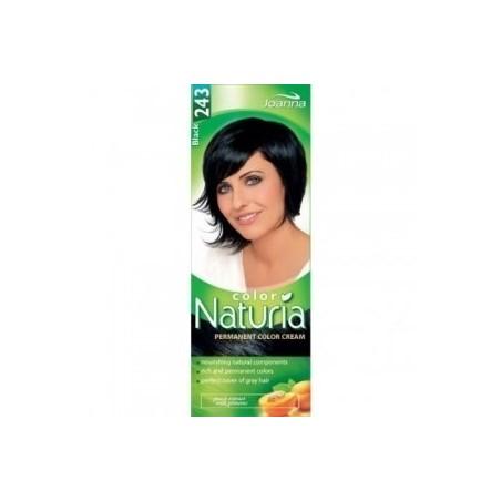 243 - Barva na vlasy NATURIA COLOR - ČERNÁ