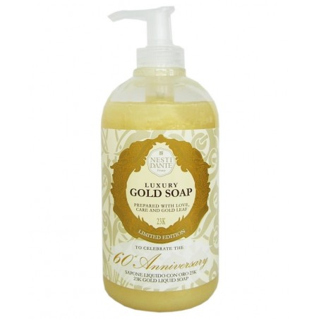 Gold tekuté mýdlo NESTI DANTE 500ml