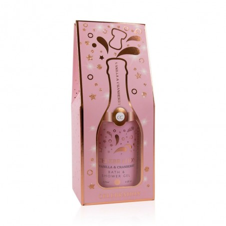 ŠAMPAŇSKÉ Luxusní pěna do koupele&sprchový gel 120ml -RŮŽOVÉ