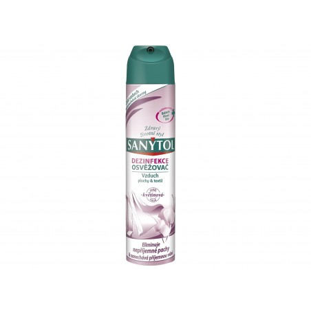 Sanytol Dezinfekční osvěžovač vzduchu, povrchů a textilií Květiny