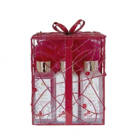 Vánoční dárková sada Zimní kolekce Winterberry 4dílný